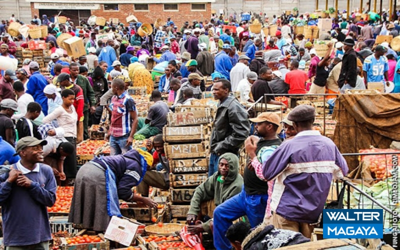 Mbare Siyaso Traders Defy Lockdown Restrictions